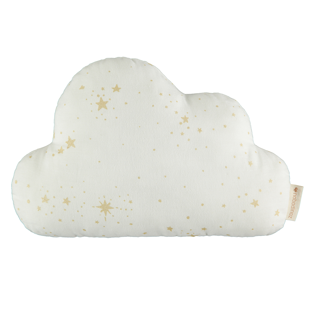 Coussin Coussin Cloud - Gold Stella & White Coussin Cloud - Gold Stella & White