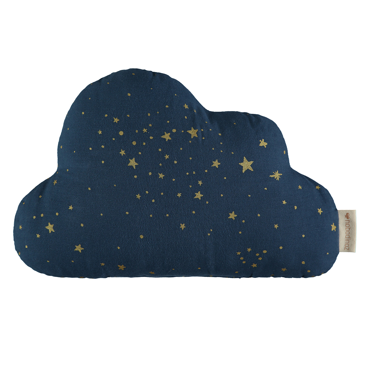 Coussin Coussin Cloud - Gold Stella & Night Blue Coussin Cloud - Gold Stella & Night Blue