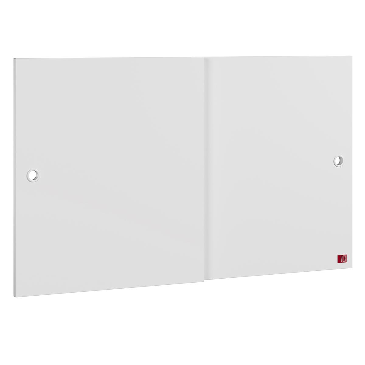 Commode Portes Additionnelles Commode Retro - Blanc Portes Additionnelles Commode Retro - Blanc