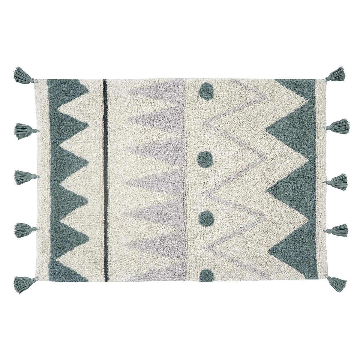 Tapis Tapis Lavable Mini Azteca - 70 x 100 cm Tapis Lavable Mini Azteca - 70 x 100 cm