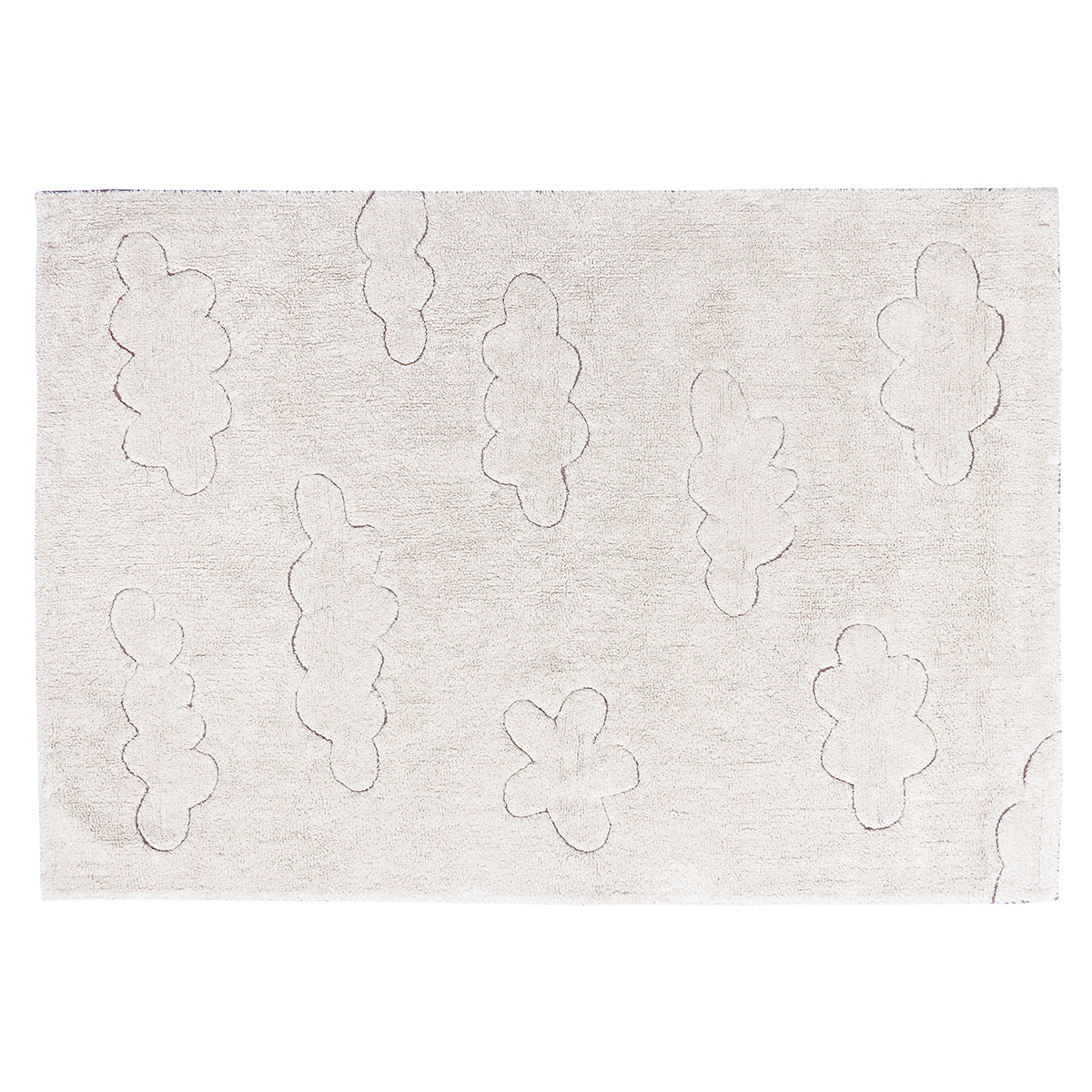 Tapis Tapis Lavable Rugcycled Nuages - 120 x 160 cm Tapis Lavable Rugcycled Nuages - 120 x 160 cm