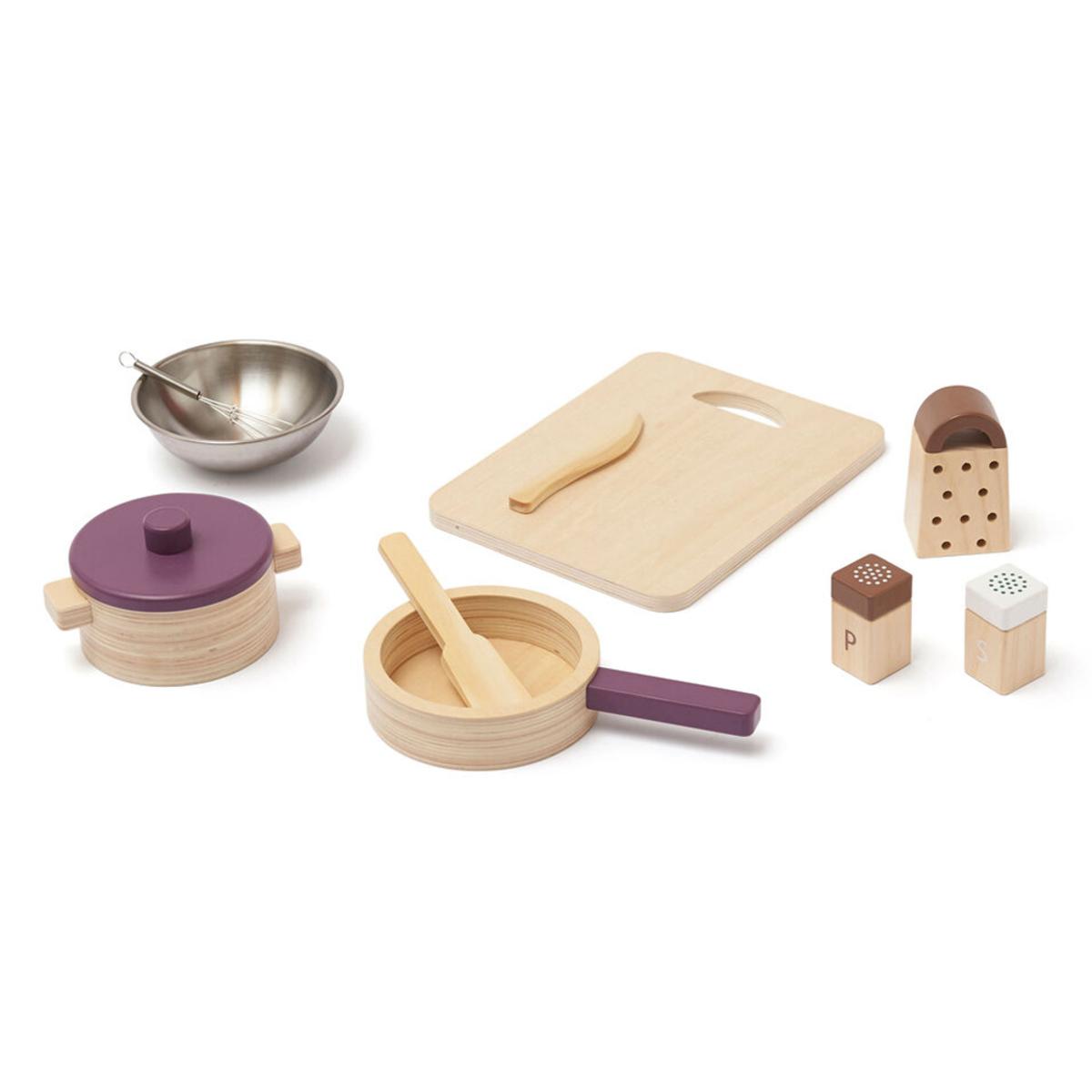 Mes premiers jouets Set d'Ustensiles de Cuisine Bistro Set d'Ustensiles de Cuisine Bistro