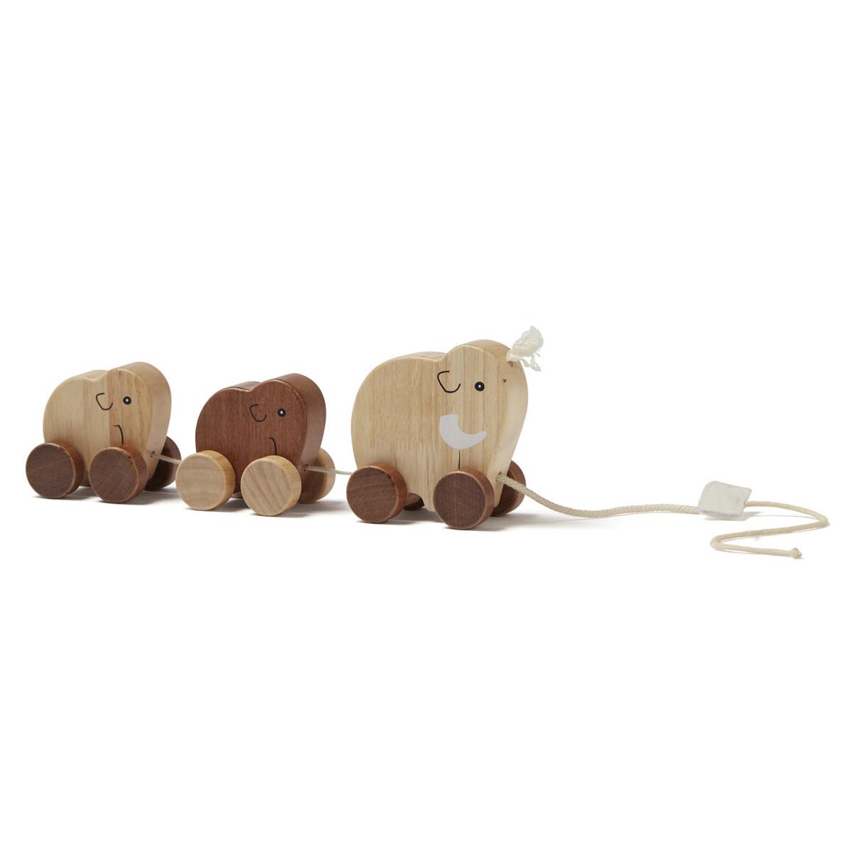 Mes premiers jouets Famille de Mammouths à Tirer Neo Famille de Mammouths à Tirer Neo