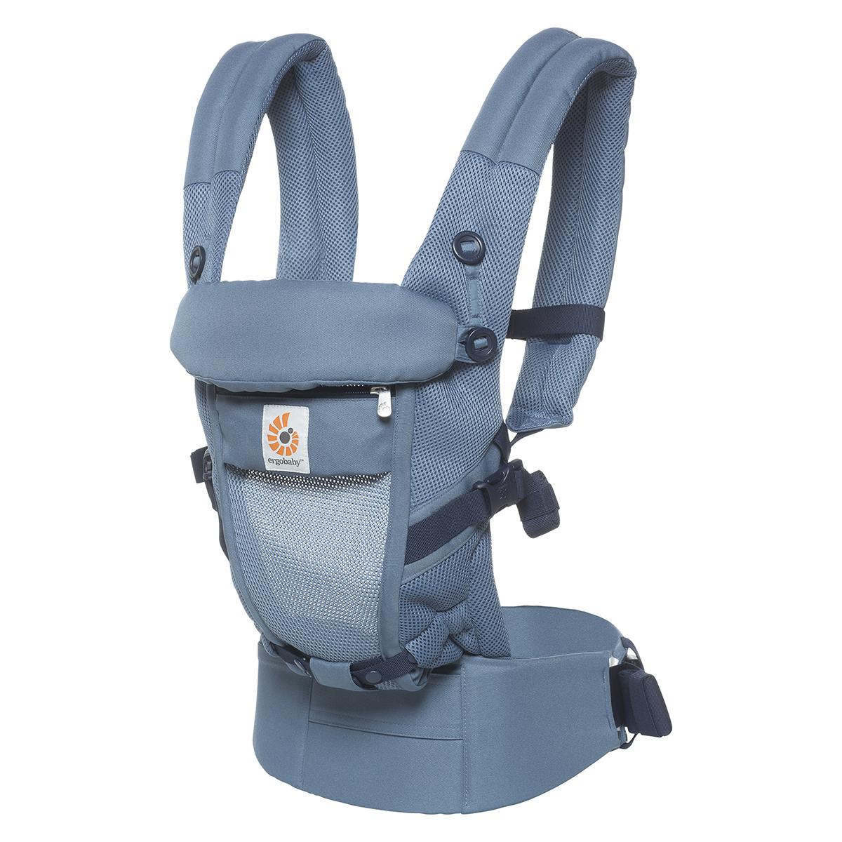 Porte bébé Porte-bébé Adapt Mesh - Bleu Gris Porte-bébé Adapt Mesh - Bleu Gris