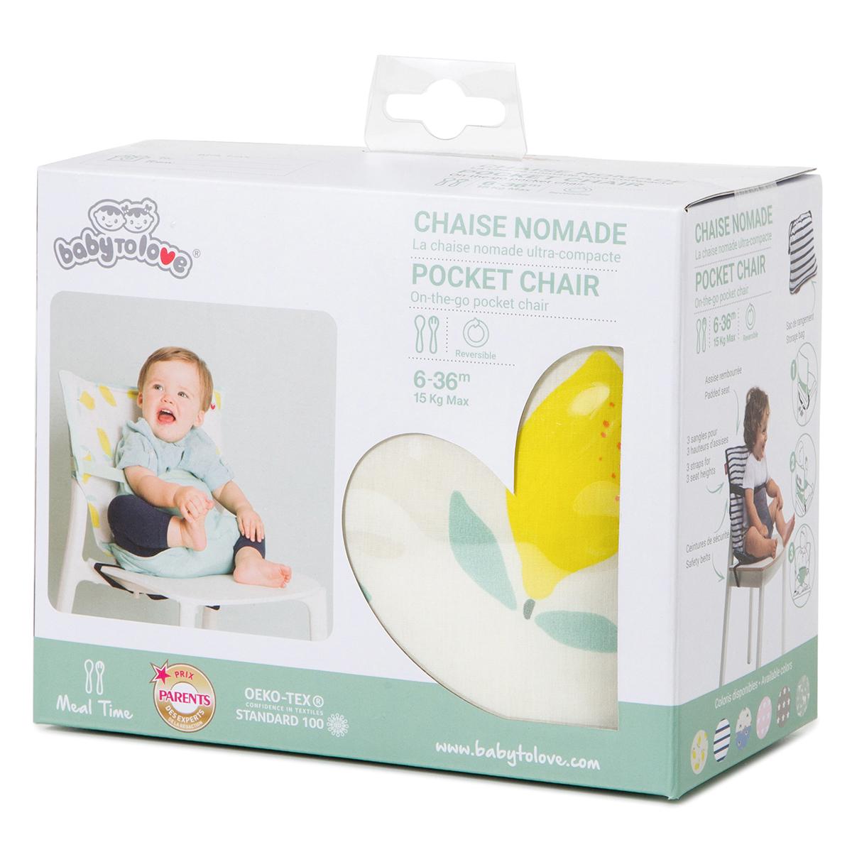 Chaise haute Chaise Nomade - Happy Lemon Chaise Nomade - Happy Lemon