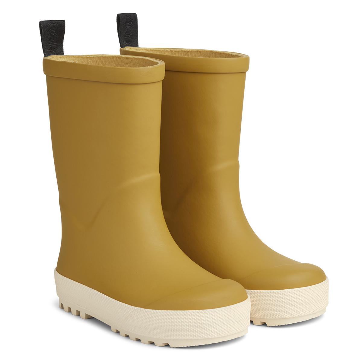 Chaussons & Chaussures Bottes de Pluie River Yellow Mellow & Crème de la Crème - 22 Bottes de Pluie River Yellow Mellow & Crème de la Crème - 22