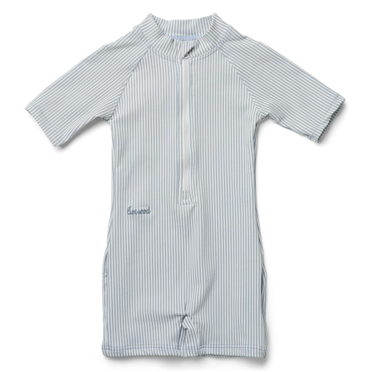 Accessoires bébé Combishort de Bain Max Sea Blue & White - 9/12 Mois Combishort de Bain Max Sea Blue & White - 9/12 Mois
