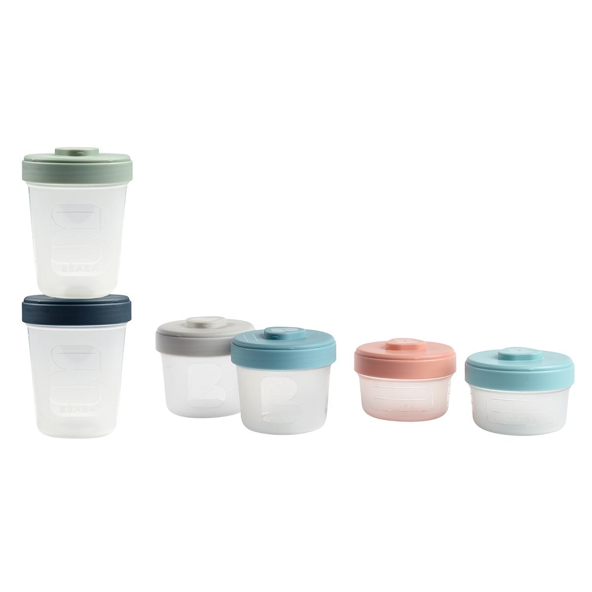 Vaisselle & Couvert Lot Intégral de 6 Portions Clip 90 150 et 250 ml - Multicolore Lot Intégral de 6 Portions Clip 90 150 et 250 ml - Multicolore