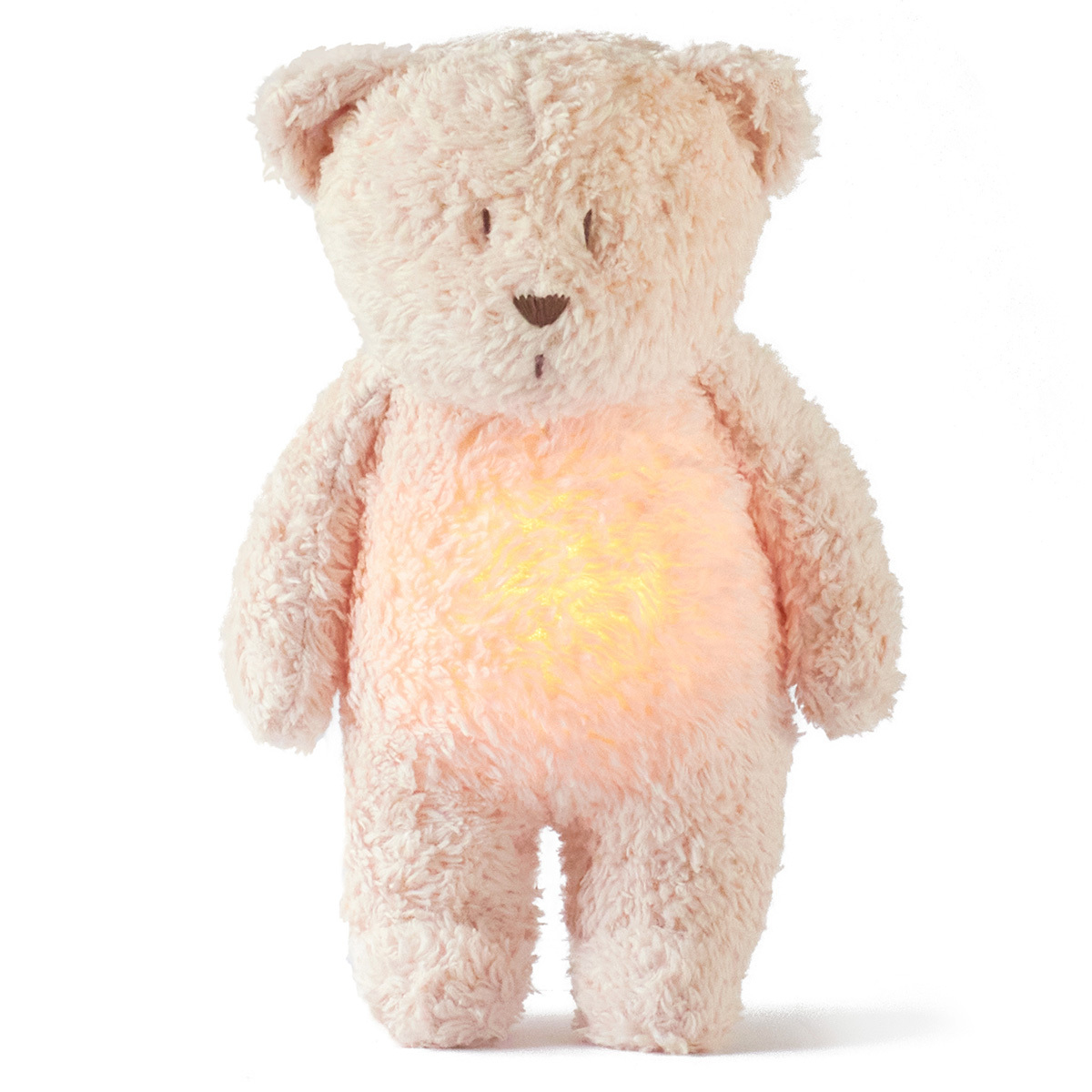 Peluche Veilleuse Musicale Ourson Moonie - Rose Veilleuse Musicale Ourson Moonie - Rose