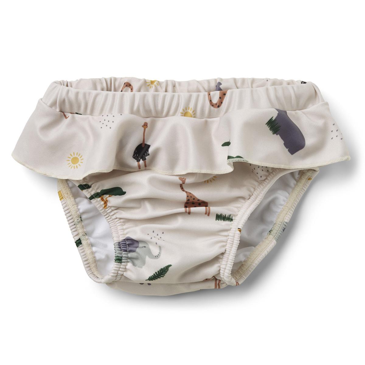 Accessoires bébé Culotte de Bain Elise Safari Sandy Mix - 12/18 Mois Culotte de Bain Elise Safari Sandy Mix - 12/18 Mois