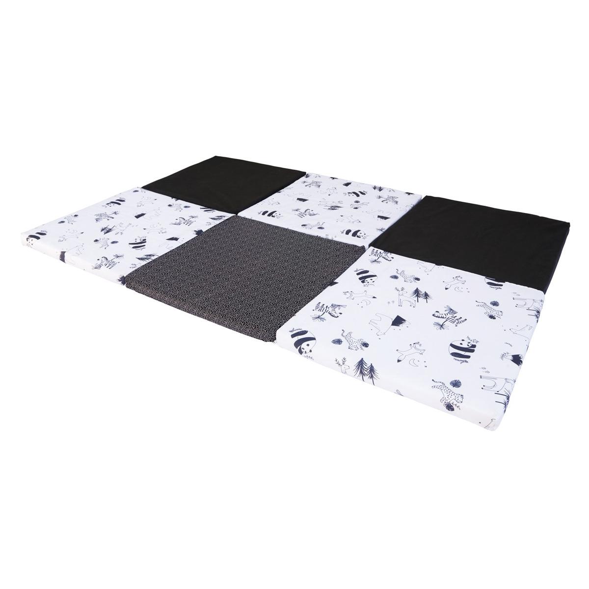 Tapis éveil Tapis de Motricité XL - Noir et Blanc Tapis de Motricité XL - Noir et Blanc