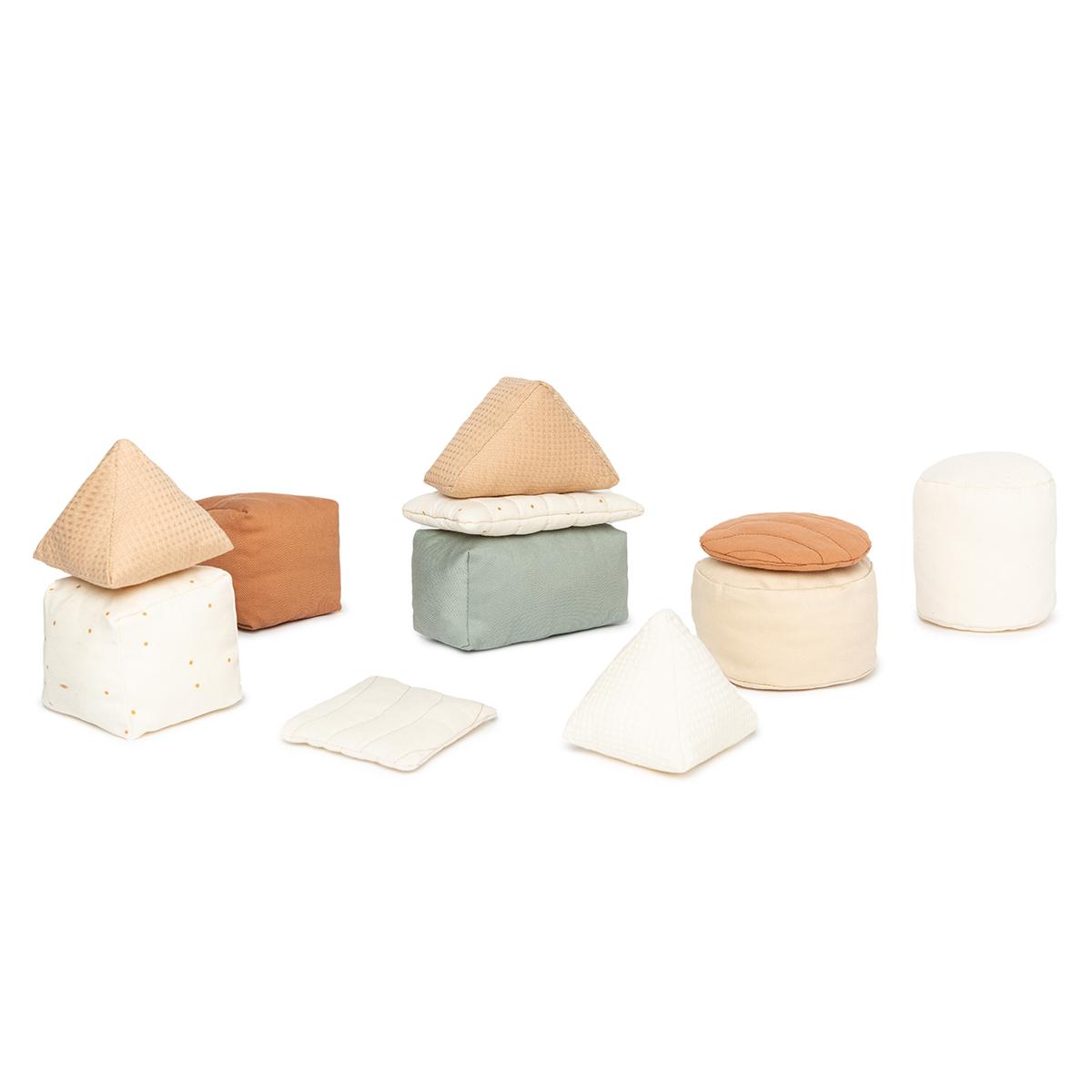 Mes premiers jouets Cubes en Tissu Cubes en Tissu