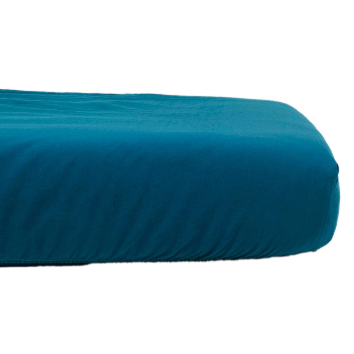 Linge de lit Drap Housse Tencel Active Clim Bleu Nuit - 60 x 120 cm Drap Housse Tencel Active Clim Bleu Nuit - 60 x 120 cm