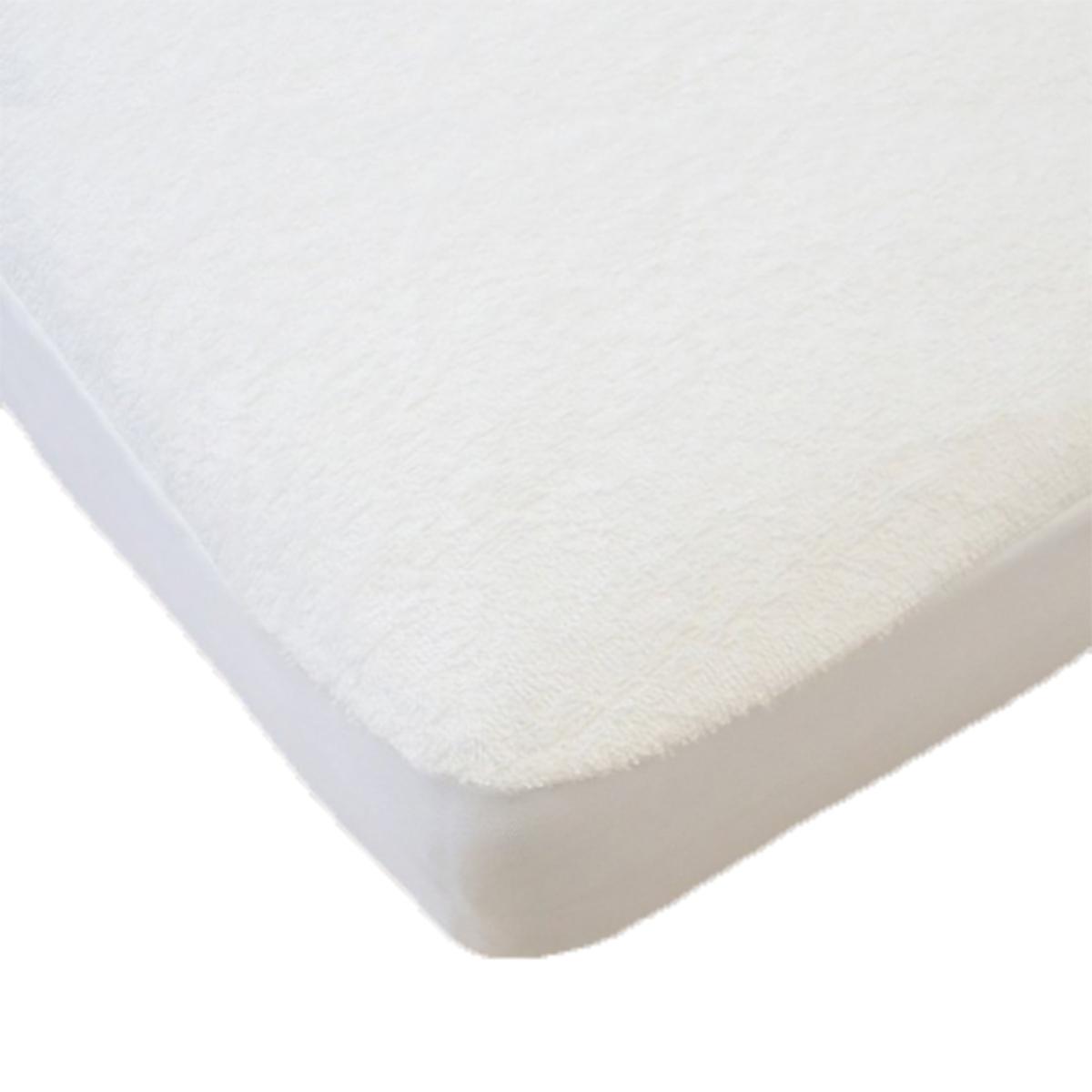 Linge de lit Alèse Coton Bio Blanc - 40 x 80 cm Alèse Coton Bio Blanc - 40 x 80 cm