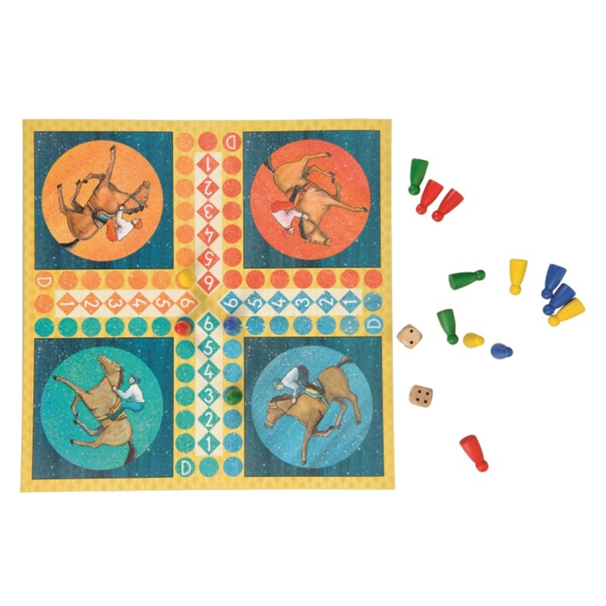 Mes premiers jouets Jeu des Petits Chevaux Jeu des Petits Chevaux