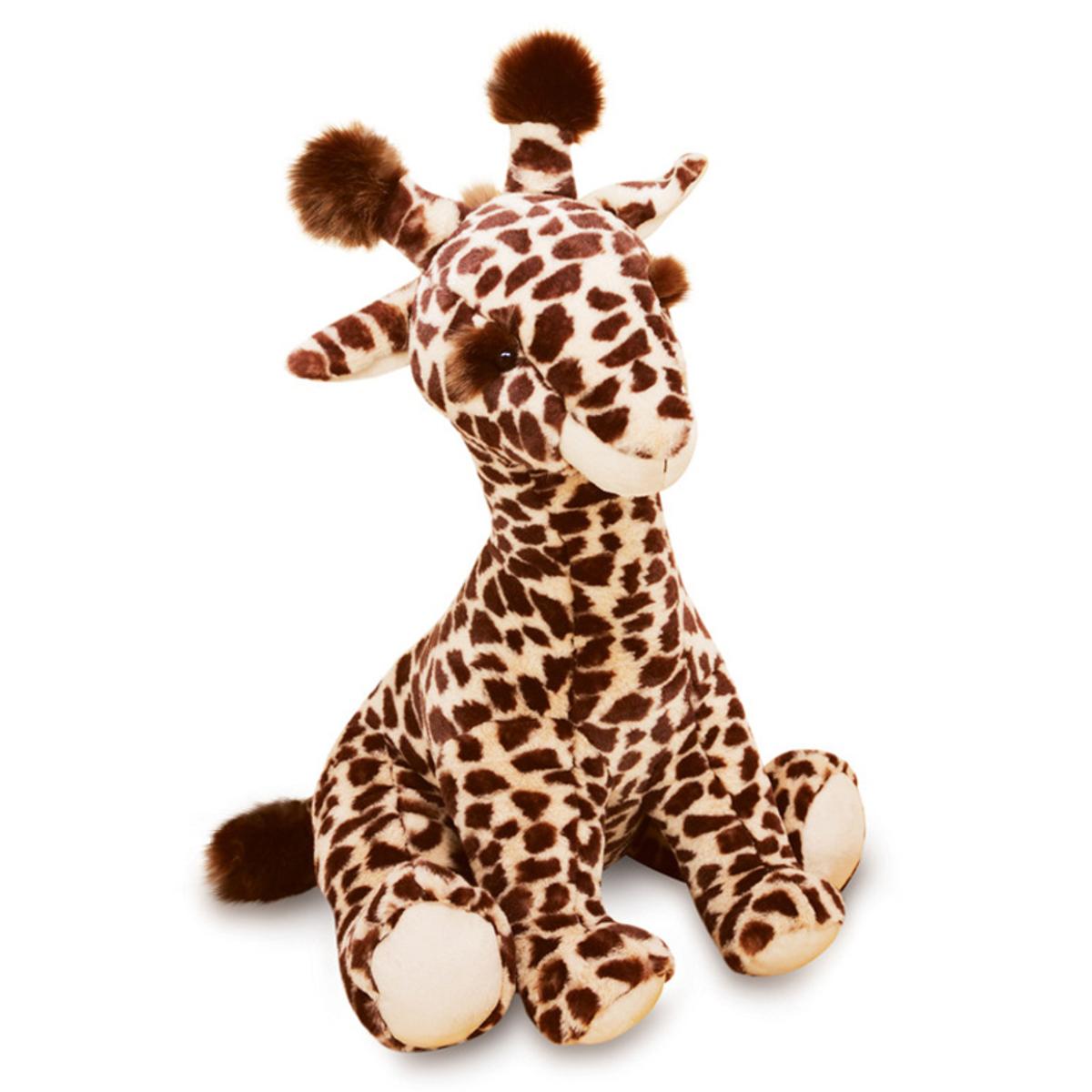 Peluche Lisi la Girafe Naturelle - Terre sauvage Peluche Girafe 50 cm