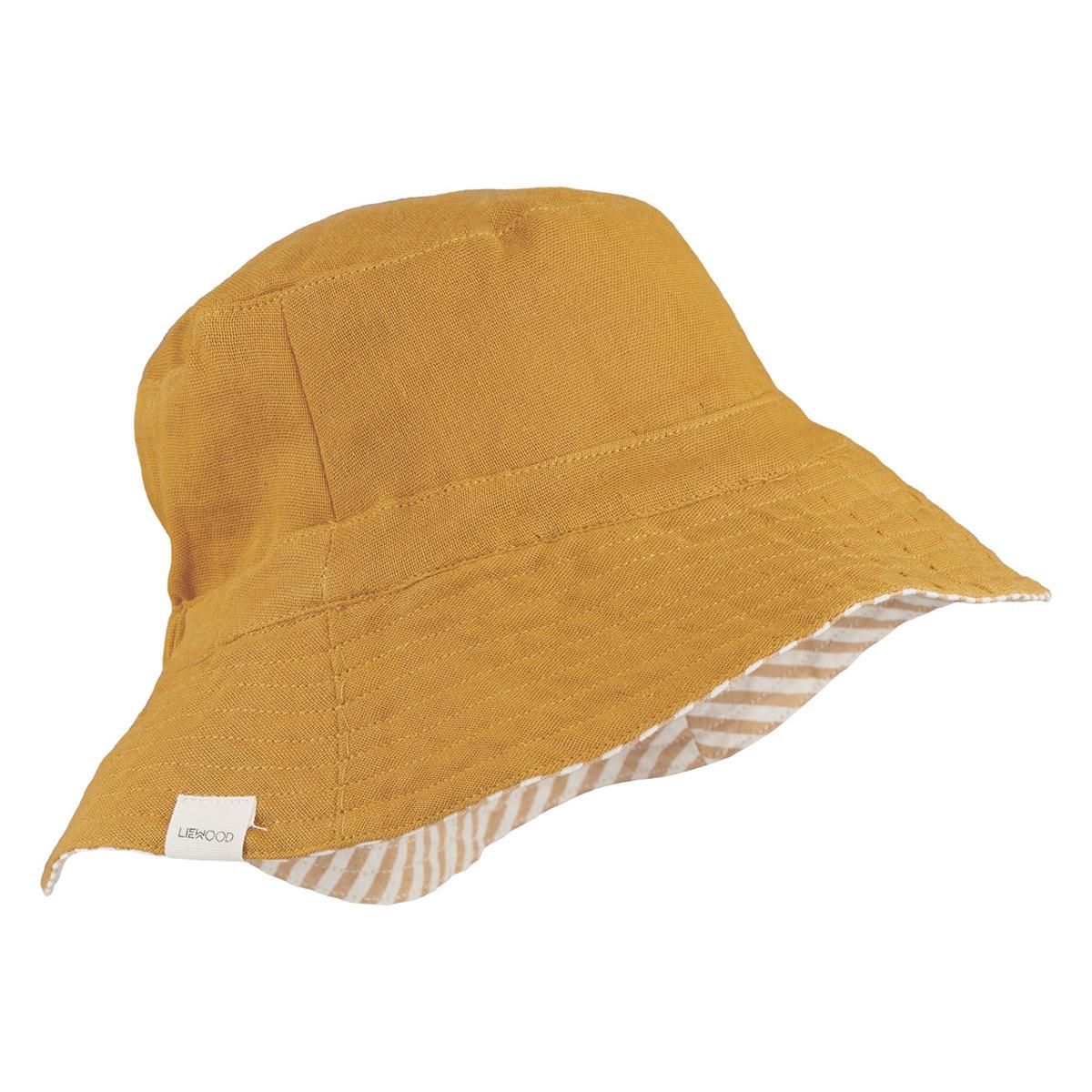 Accessoires bébé Chapeau Bob Buddy Mustard - 0/3 Mois Chapeau Bob Buddy Mustard - 0/3 Mois