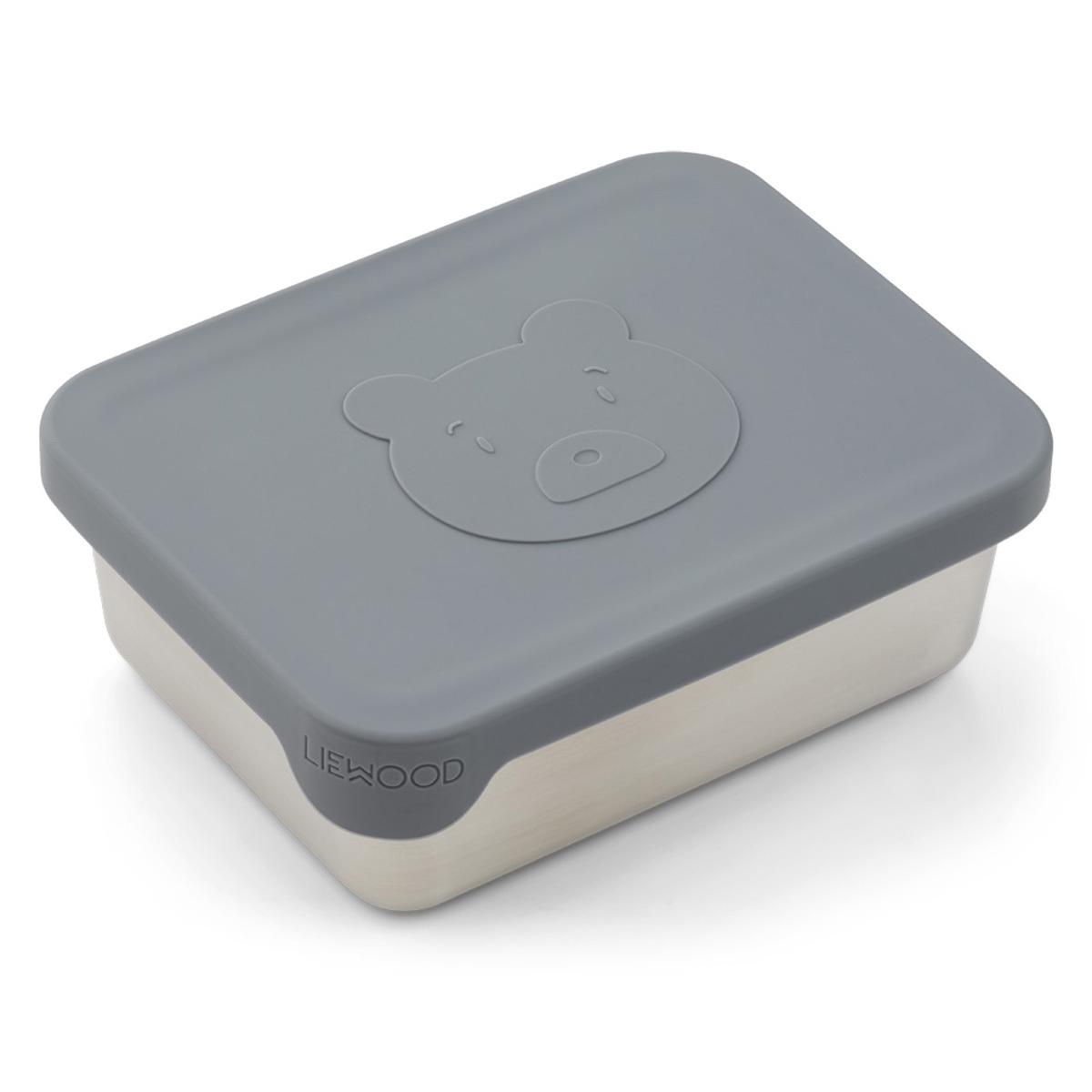 Vaisselle & Couvert Snackbox Ako - Mr Bear Blue Wave Snackbox Ako - Mr Bear Blue Wave