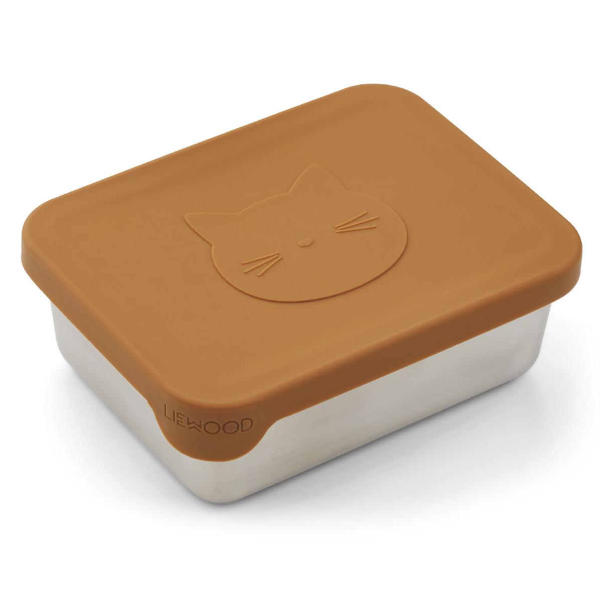 Vaisselle & Couvert Snackbox Ako - Cat Mustard Snackbox Ako - Cat Mustard