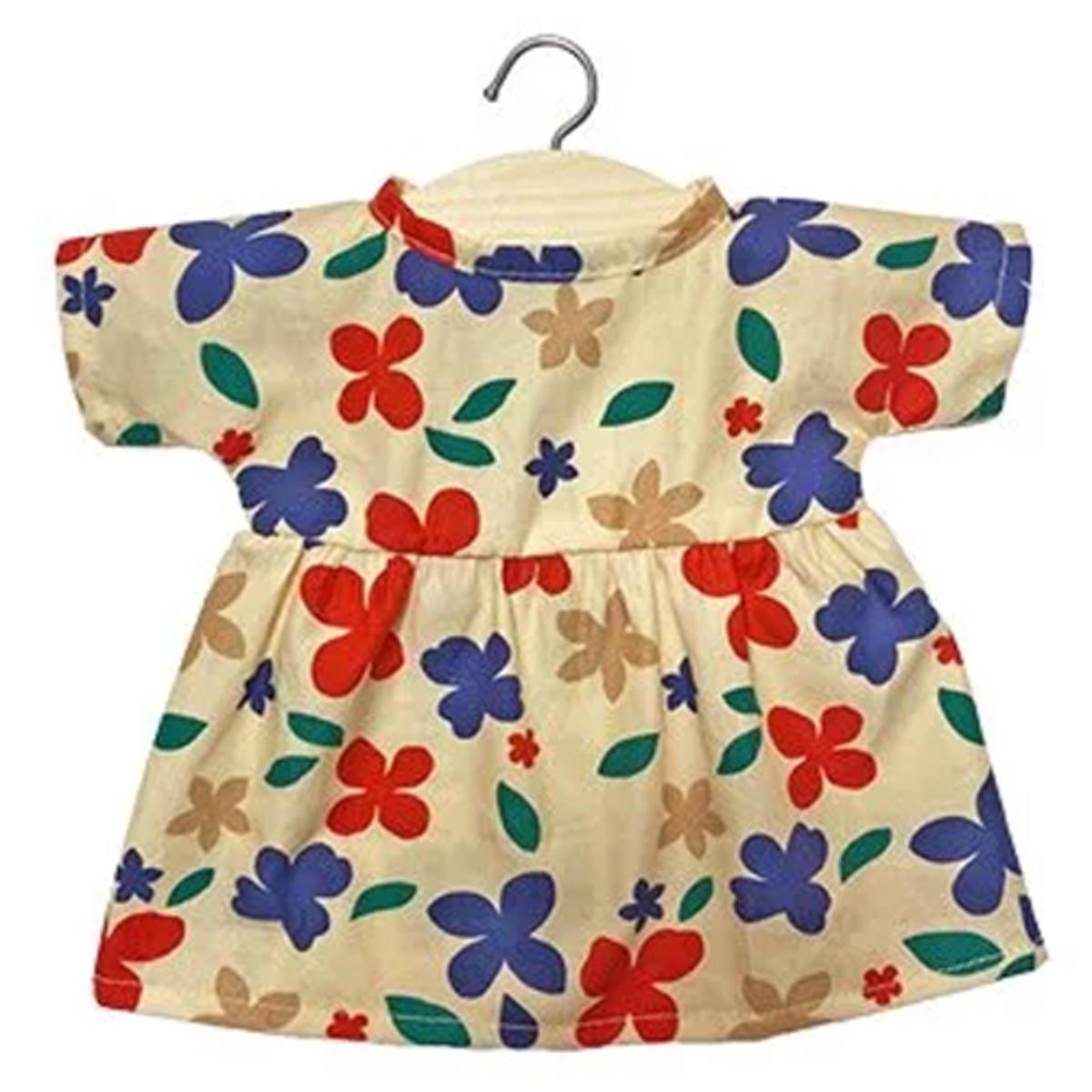 Mes premiers jouets Robe Faustine pour Poupée en Coton Mona Robe Faustine pour Poupée en Coton Mona