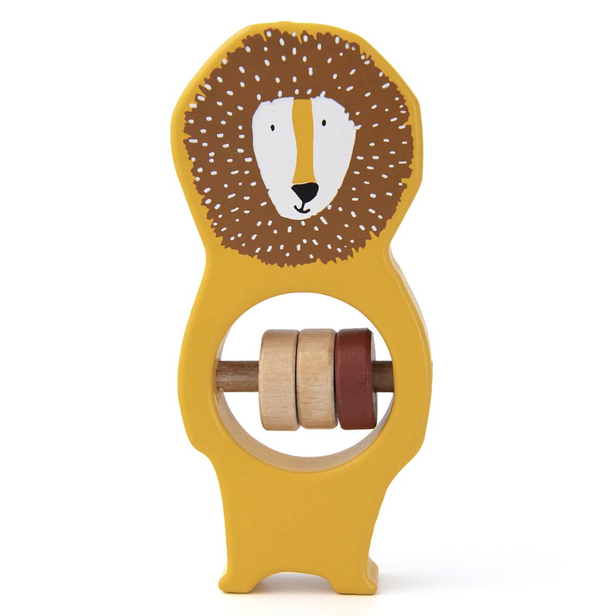 Hochet Hochet en Bois - Mr. Lion Hochet en Bois - Mr. Lion
