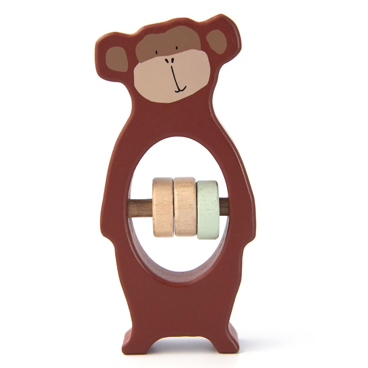 Hochet Hochet en Bois - Mr. Monkey Hochet en Bois - Mr. Monkey