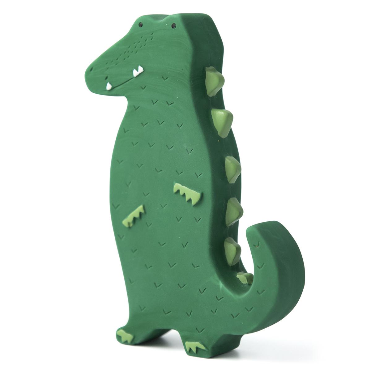 Dentition Jouet en Caoutchouc Naturel - Mr. Crocodile Jouet en Caoutchouc Naturel - Mr. Crocodile