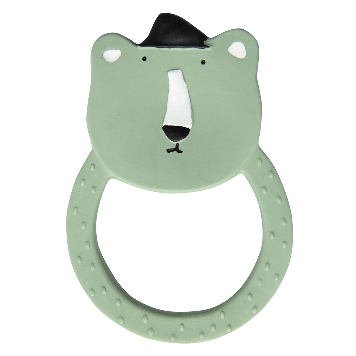 Dentition Anneau de Dentition en Caoutchouc Naturel - Mr. Polar Bear Anneau de Dentition en Caoutchouc Naturel - Mr. Polar Bear