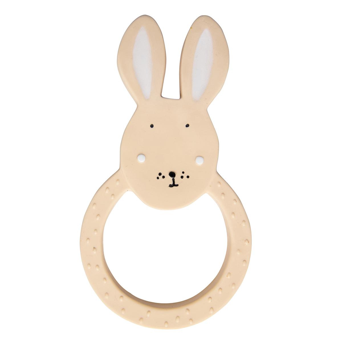 Dentition Anneau de Dentition en Caoutchouc Naturel - Mrs. Rabbit Anneau de Dentition en Caoutchouc Naturel - Mrs. Rabbit