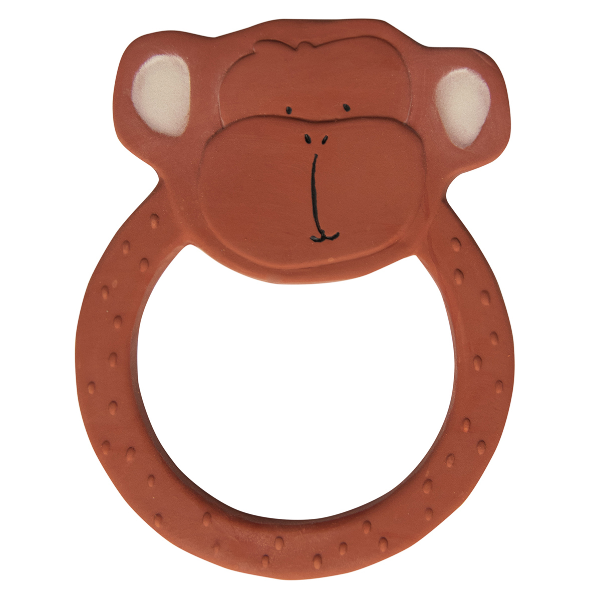 Dentition Anneau de Dentition en Caoutchouc Naturel - Mr. Monkey Anneau de Dentition en Caoutchouc Naturel - Mr. Monkey