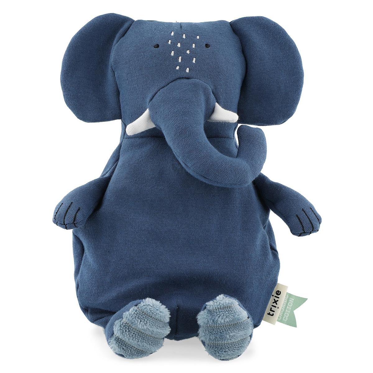 Peluche Petite Peluche Mrs. Elephant Peluche Eléphant 26 cm