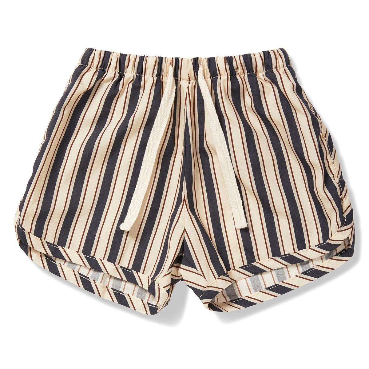 Bas bébé Short Verbena Navy Stripes - 3 Ans Short Verbena Navy Stripes - 3 Ans