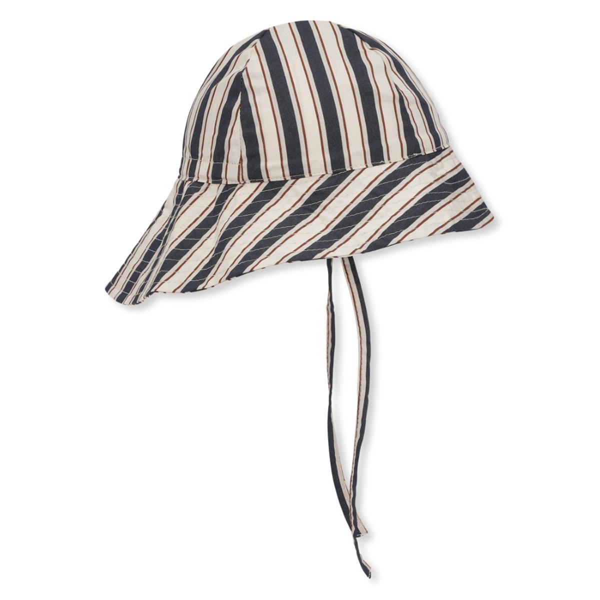 Accessoires bébé Chapeau Verbena Navy Stripes - 6/9 Mois Chapeau Verbena Navy Stripes - 6/9 Mois
