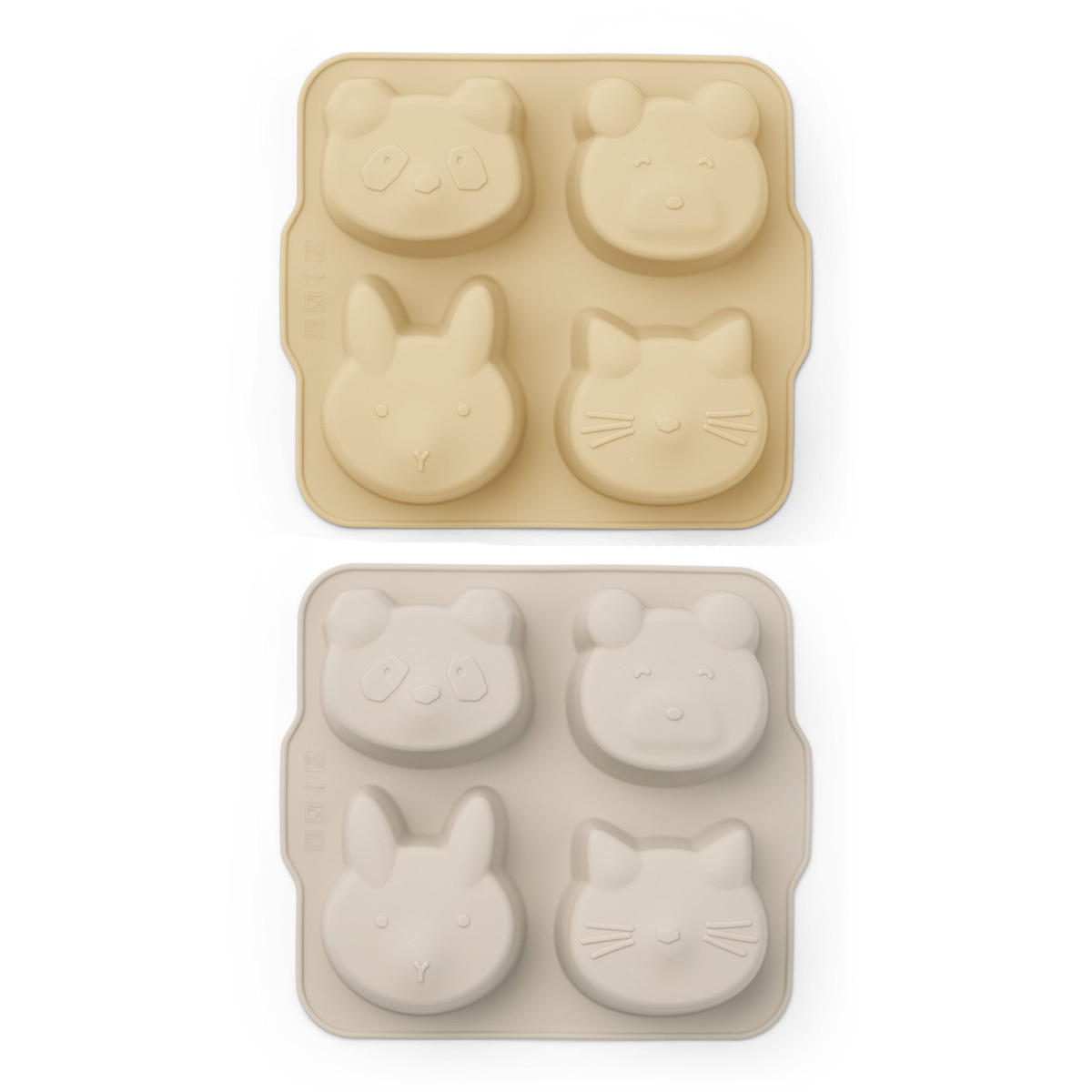 Vaisselle & Couvert Lot de 2 Mini Moules à Gâteau Mariam - Wheat Yellow & Sandy Mix Lot de 2 Mini Moules à Gâteau Mariam - Wheat Yellow & Sandy Mix