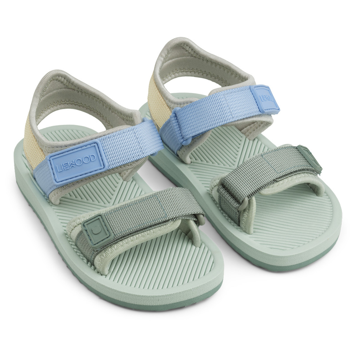 Chaussons & Chaussures Sandales Monty Dusty Mint Multi Mix - 26 Sandales Monty Dusty Mint Multi Mix - 26