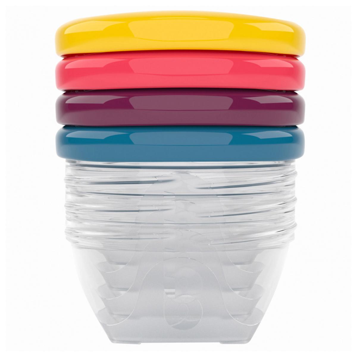 Vaisselle & Couvert Lot de 4 Babybols - 120 ml Lot de 4 Babybols - 120 ml
