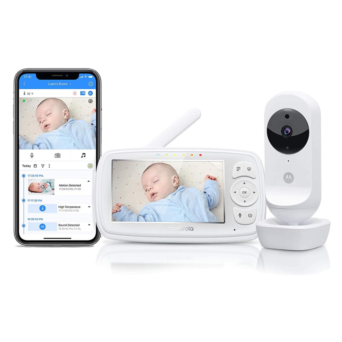 Écoute bébé Babyphone EASE 44 Connect 2-en-1 Babyphone EASE 44 Connect 2-en-1