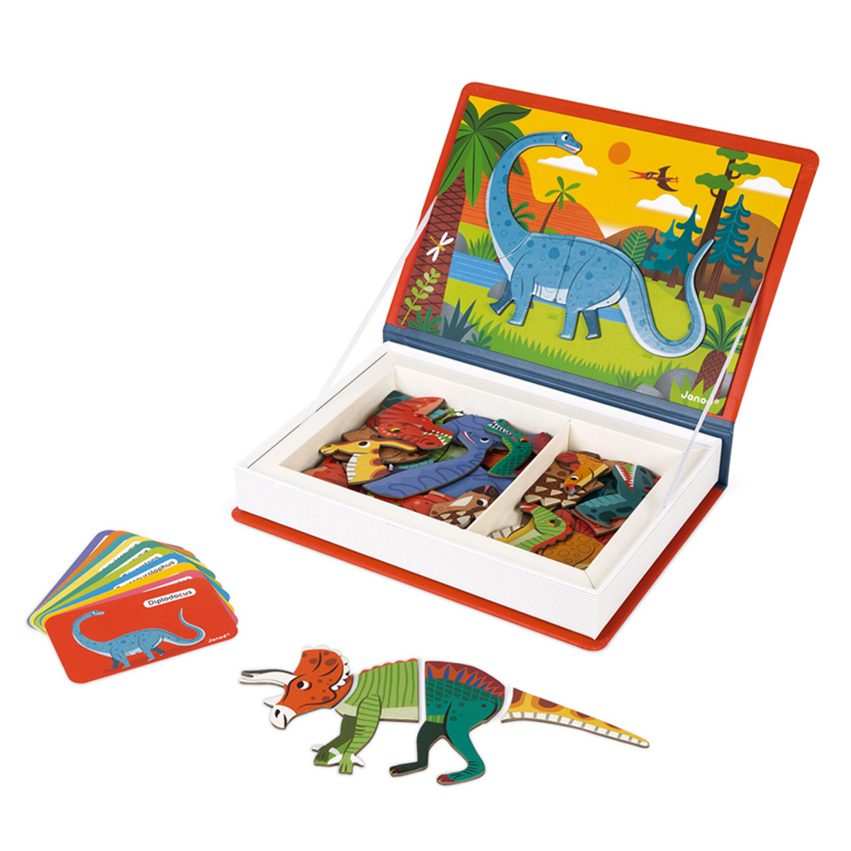 Mes premiers jouets Magnéti'Book Dinosaures Magnéti'Book Dinosaures