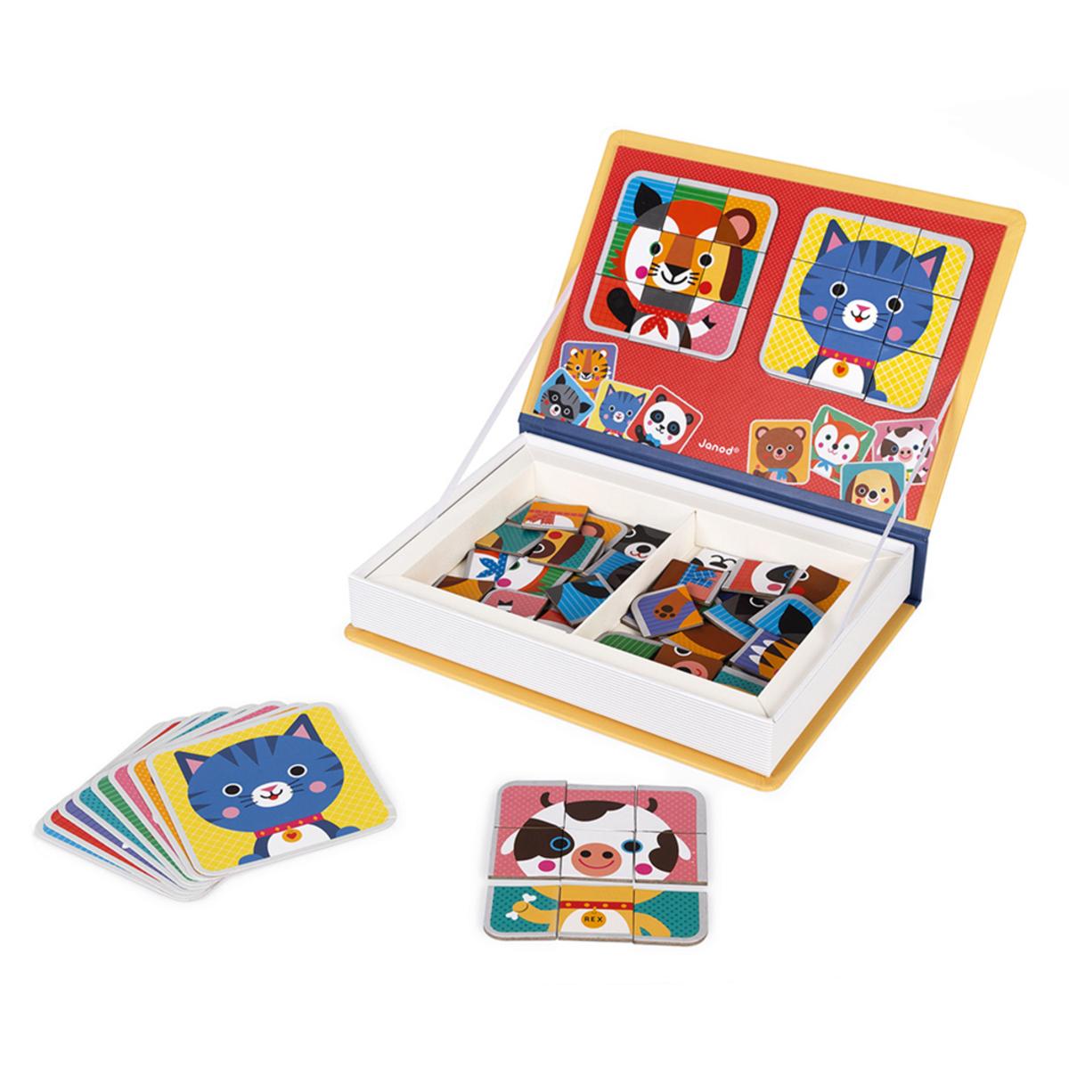 Mes premiers jouets Magnéti'Book Mix & Match Magnéti'Book Mix & Match