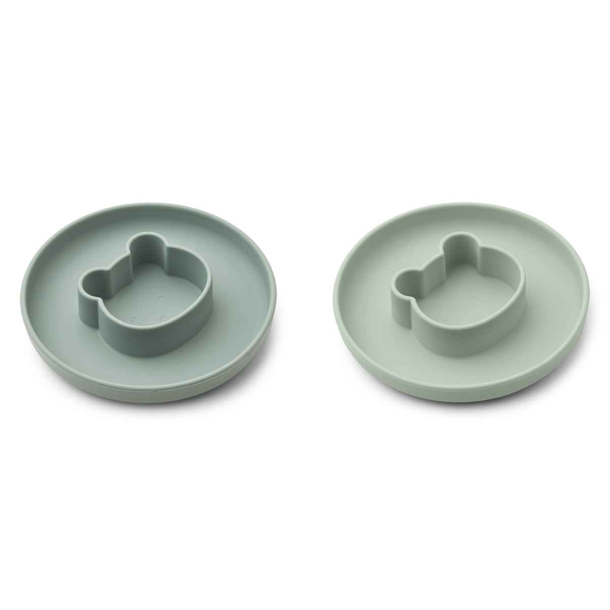 Vaisselle & Couvert Lot de 2 Assiettes Gordon - Mr Bear Mint Mix Lot de 2 Assiettes Gordon - Mr Bear Mint Mix