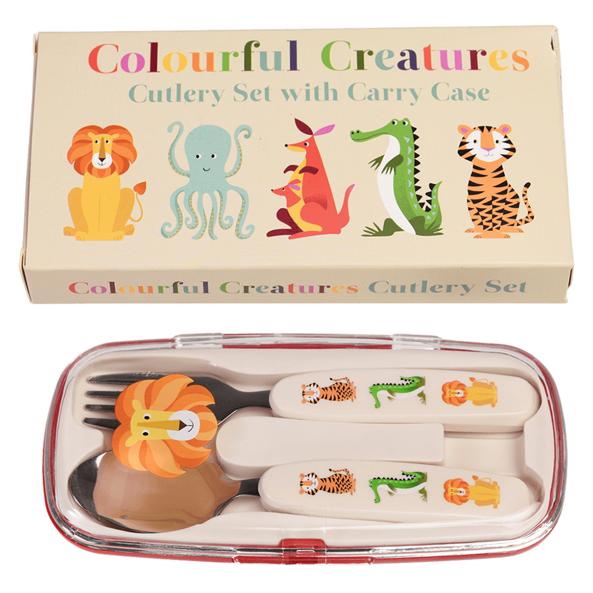Vaisselle & Couvert Set de Couverts - Colourful Creatures Set de Couverts - Colourful Creatures
