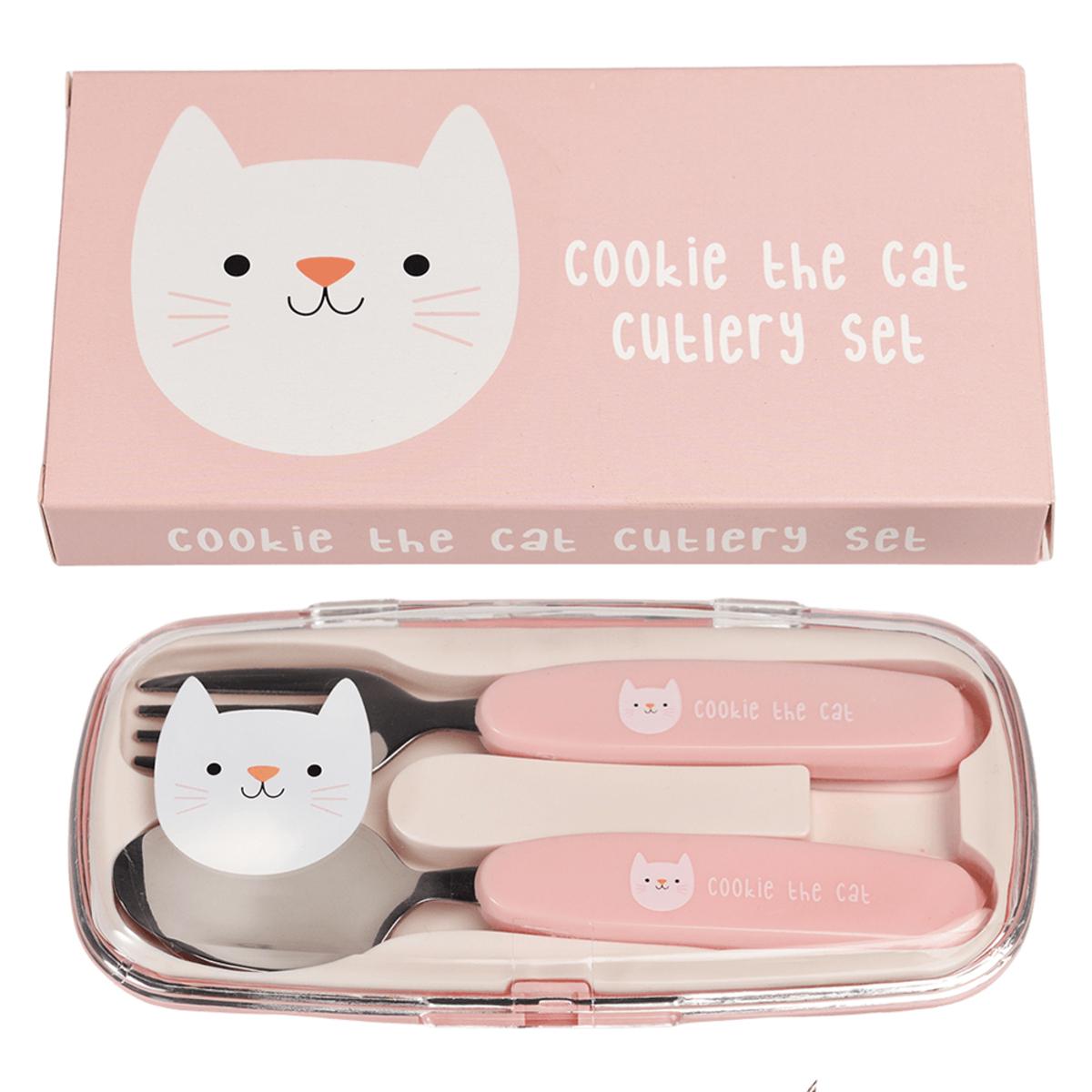 Vaisselle & Couvert Set de Couverts - Cookie le Chat Set de Couverts - Cookie le Chat