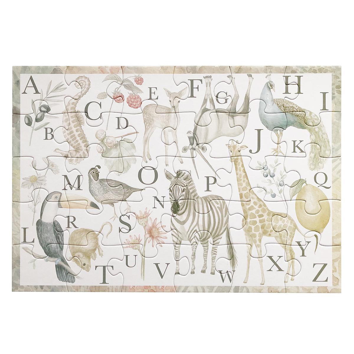 Mes premiers jouets Puzzle Alphabet des Animaux Puzzle Alphabet des Animaux
