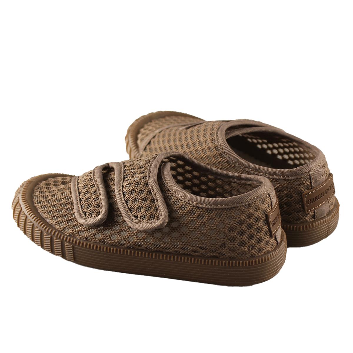 Chaussons & Chaussures Baskets Respirantes à Scratch Stone - 27 Baskets Respirantes à Scratch Stone - 27