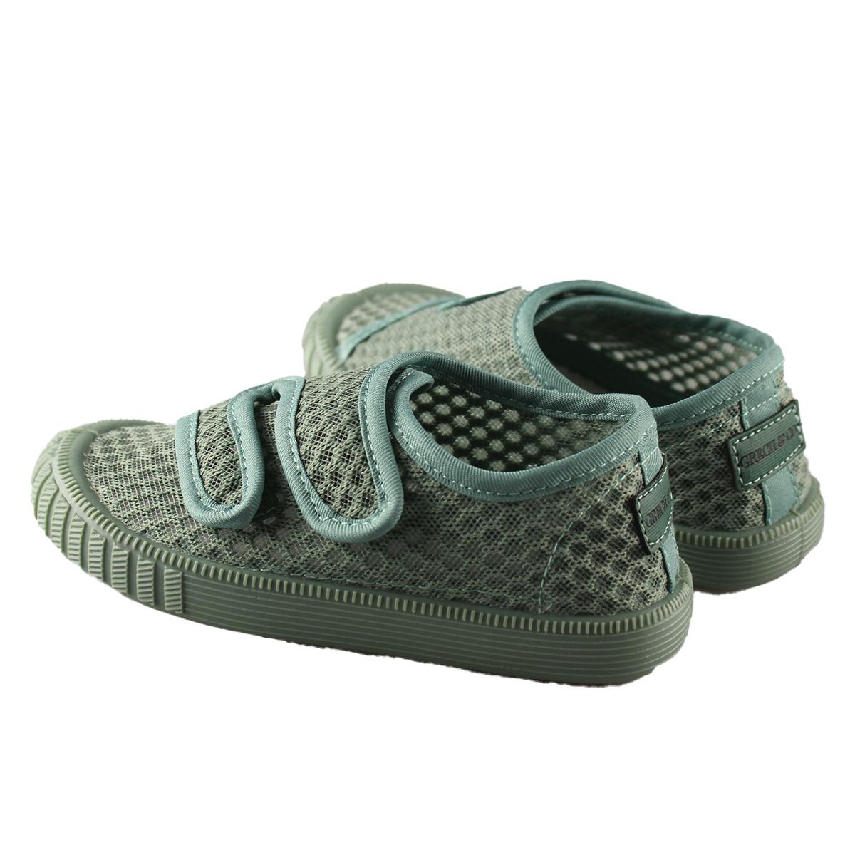 Chaussons & Chaussures Baskets Respirantes à Scratch Fern - 26 Baskets Respirantes à Scratch Fern - 26