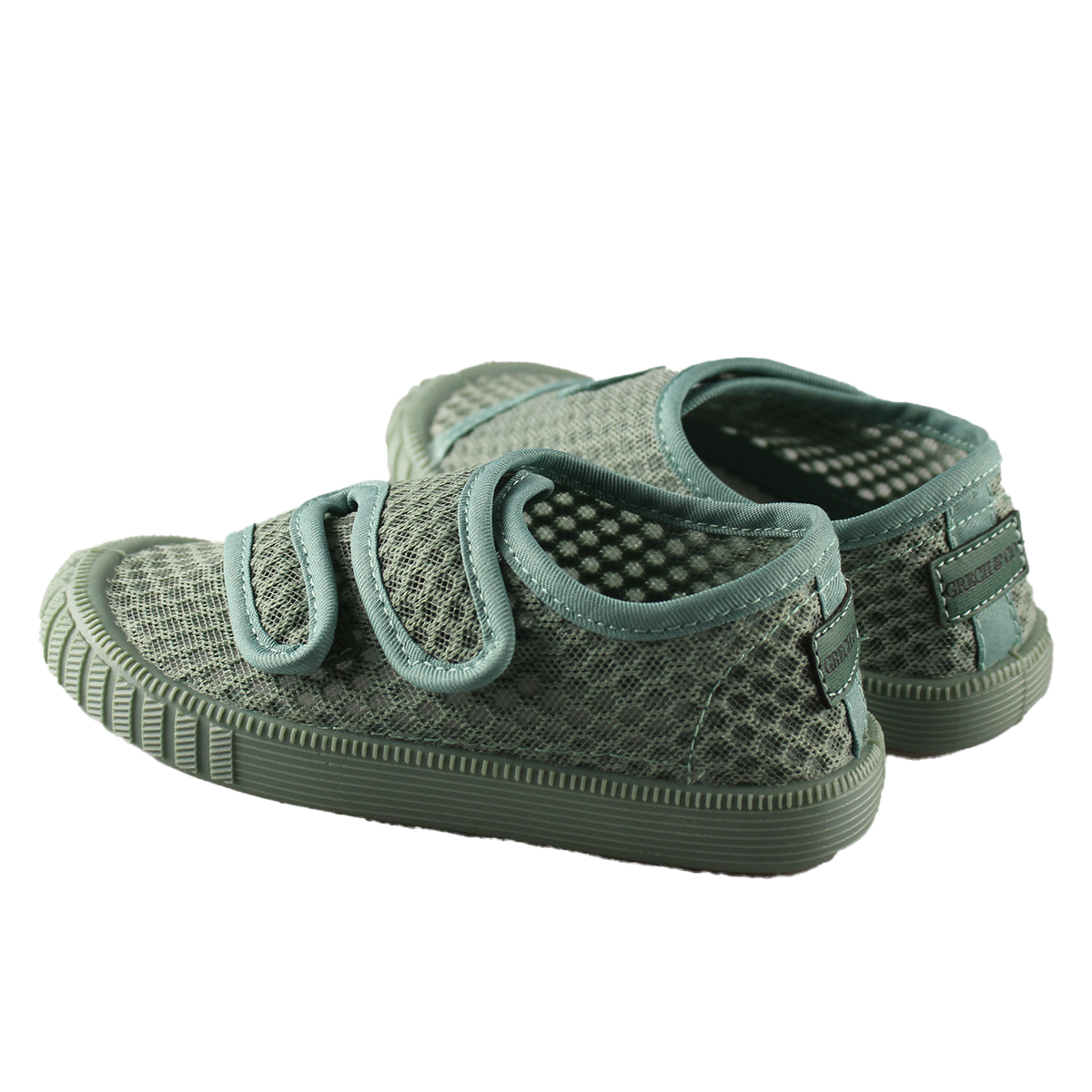 Chaussons & Chaussures Baskets Respirantes à Scratch Fern - 27 Baskets Respirantes à Scratch Fern - 27