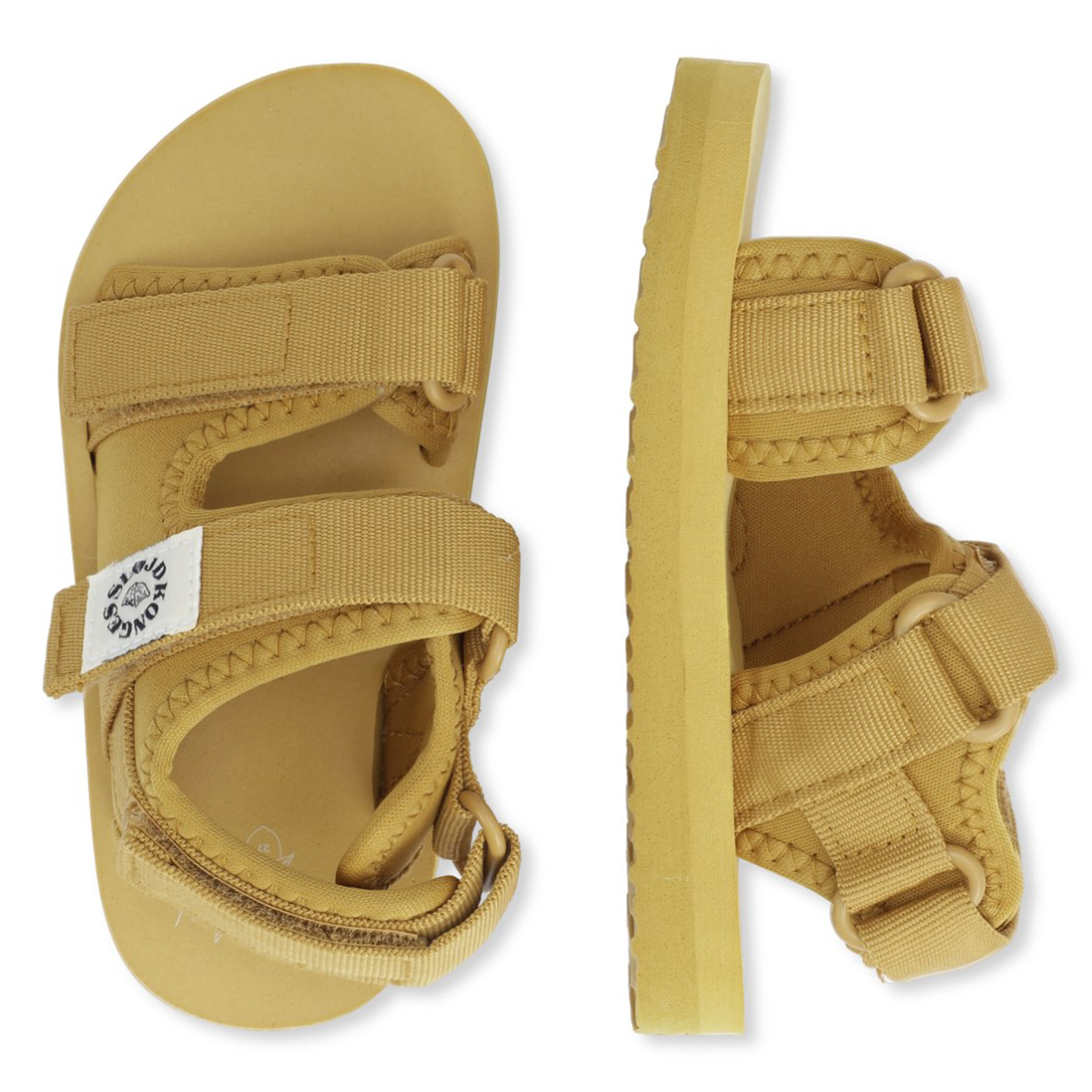 Chaussons & Chaussures Sandales Sun Mustard Gold - 22 Sandales Sun Mustard Gold - 22