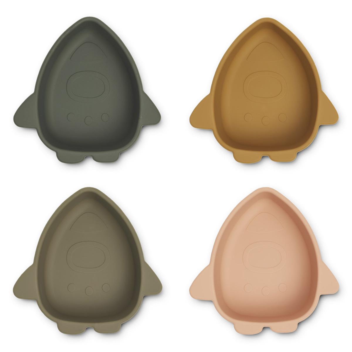 Vaisselle & Couvert Lot de 4 Bols en Silicone Iggy - Space Multi Mix Lot de 4 Bols en Silicone Iggy - Space Multi Mix