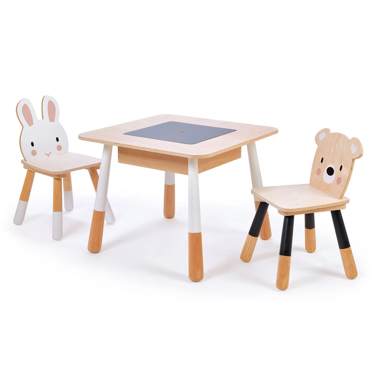 Table & Chaise Ensemble Table et Chaises Forêt Ensemble Table et Chaises Forêt