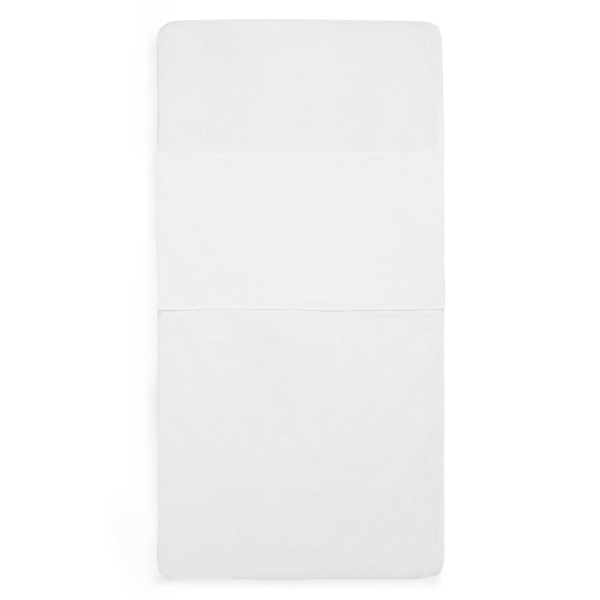 Linge de lit Drap Housse Sac de Couchage Blanc - 60 x 120 cm Drap Housse Sac de Couchage Blanc - 60 x 120 cm